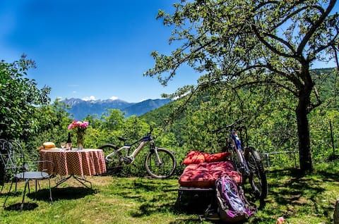 ontdek de Garrotxes met de mountainbike