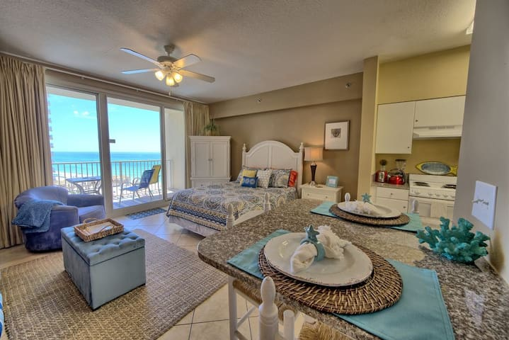 NEW! Gulf Front Condo With Same Floor Parking!