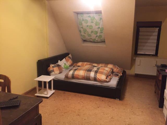 Schönes Zimmer im Ortskern - Kirchheim unter Teck - Lejlighed