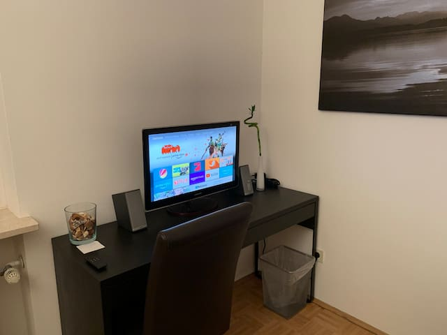 Arbeitsplatz / SmartTV