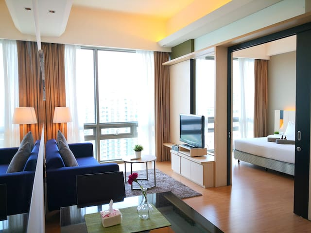 S172 One Bedroom Deluxe Suite KLCC, Bukit Bintang