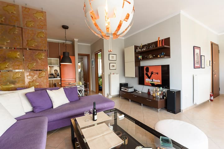 58m2 Modern Apartment ideal for your business trip