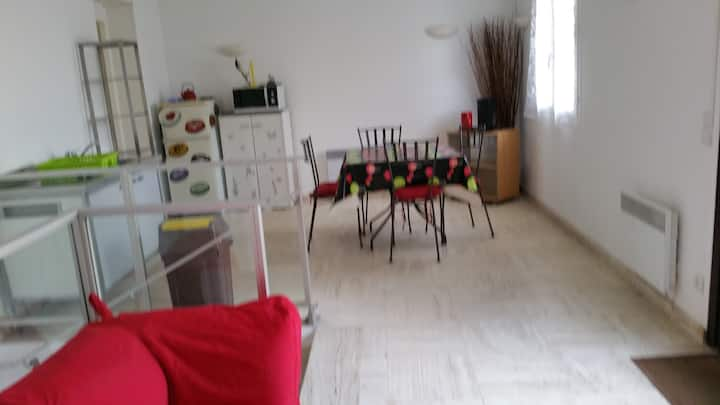 Grand appartement en plein centre