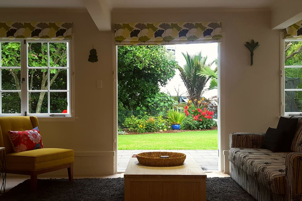 Easy access to large garden