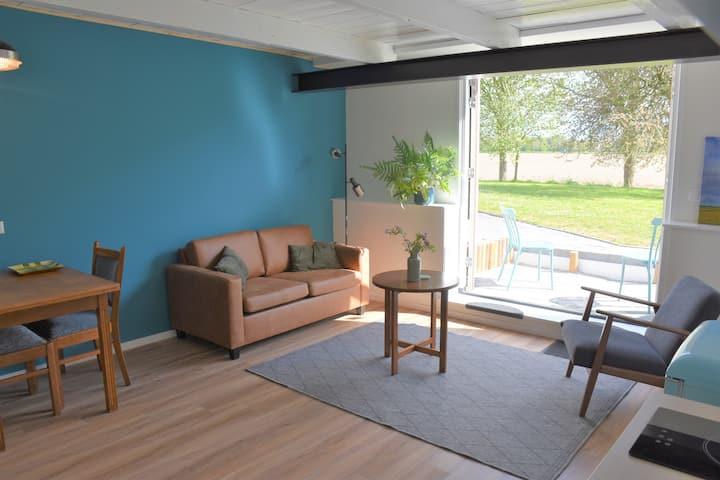 Appartement (blauw) in woonboerderij