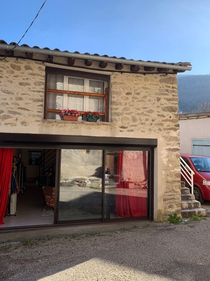 Maison calme montagne 15 minutes ski mont d Olmes