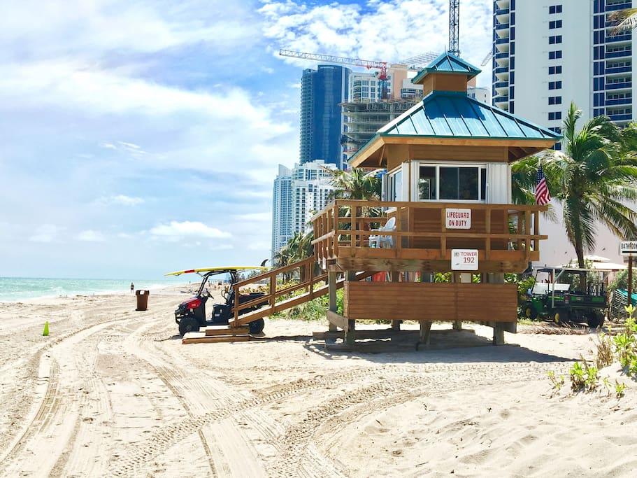 Beautiful Sunny Isles Beach