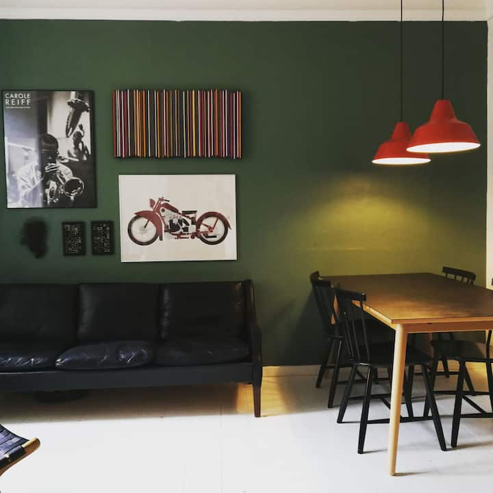 Nice room at beautiful Frederiksberg.
