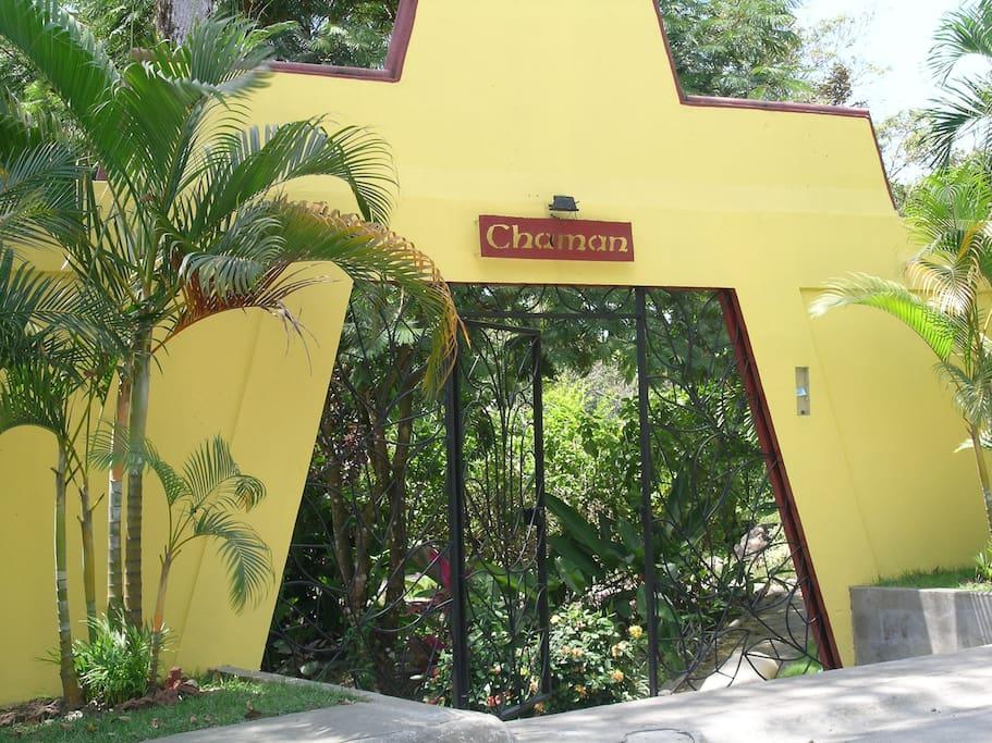 Entrance Front Gate