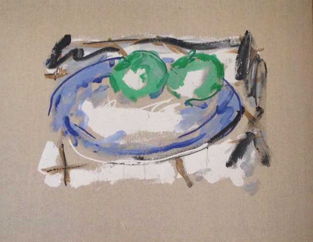 Peinture de l'artiste allemand Christian Lindow