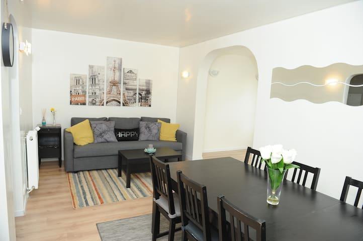 Maison 120M²  avec jardin+place de parking gratuit