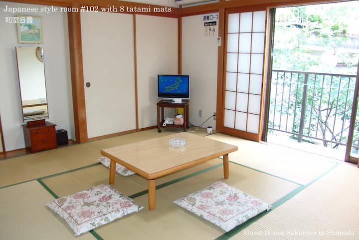 Japanese Sea View Room 102 for Max 3 People