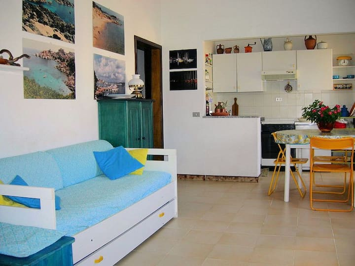 Bright fresh and cozy apartment 100mt from the sea