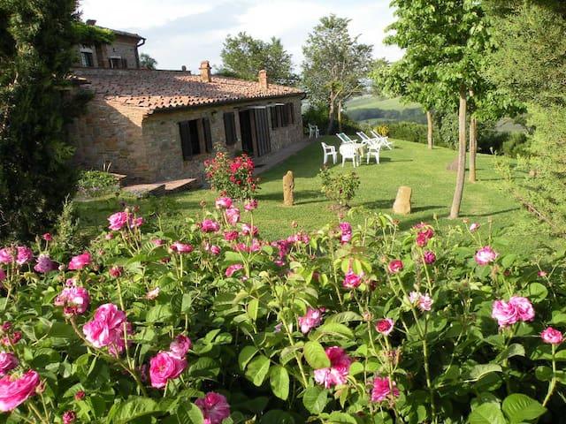 App. La Rosa vista su Montepulciano(La Fraternita) - Montepulciano - Casa