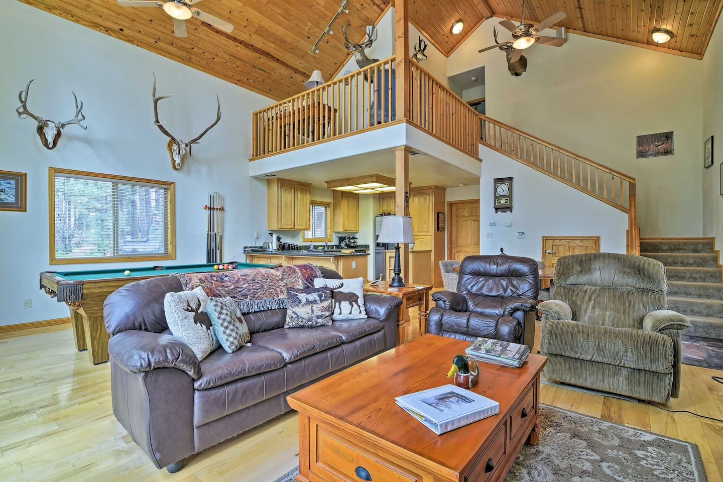 Retreat to the wilderness at this Markleeville vacation rental home!
