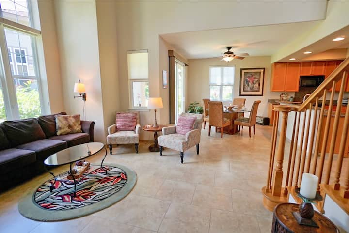C0201 - Great 2 Bdrm Townhome at Waikoloa Resort!