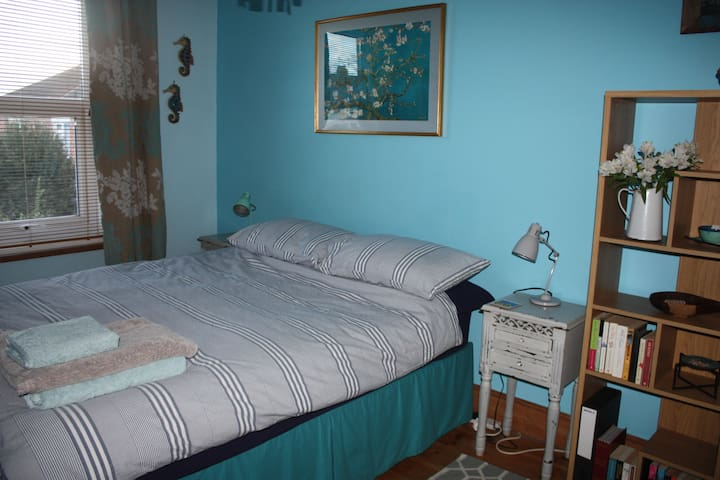 A kingsize bed in a nice, quiet neighbourhood. - Portsmouth - Casa