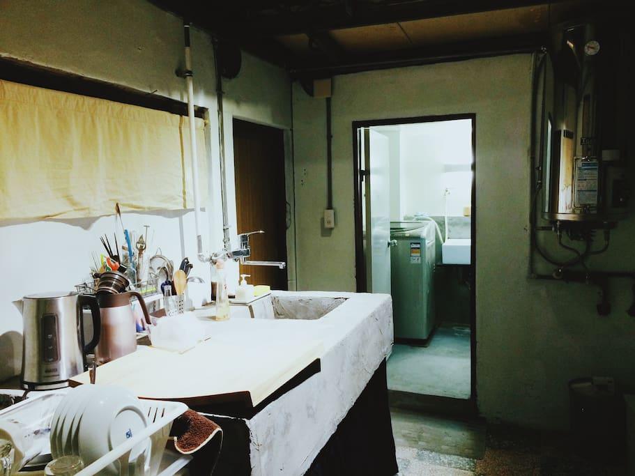 簡易式廚房