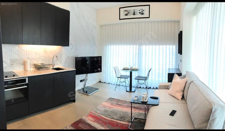 Modern Studio in Istanbul Downtown -Close to Metro