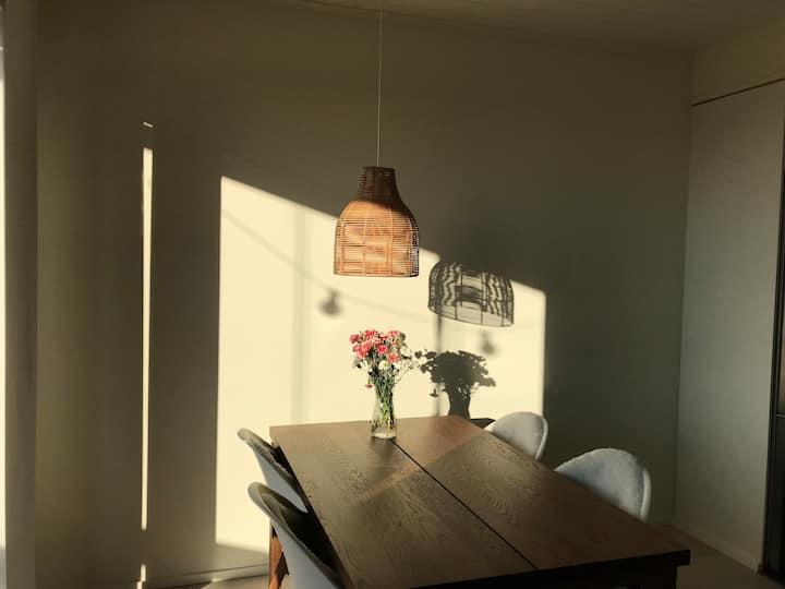Aurinkoranta loma-asunto merinäköalalla 2+1hlö