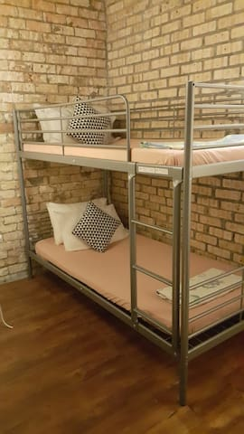 Books & Beds Twin Bedded Room 2** (Bunk Bed)