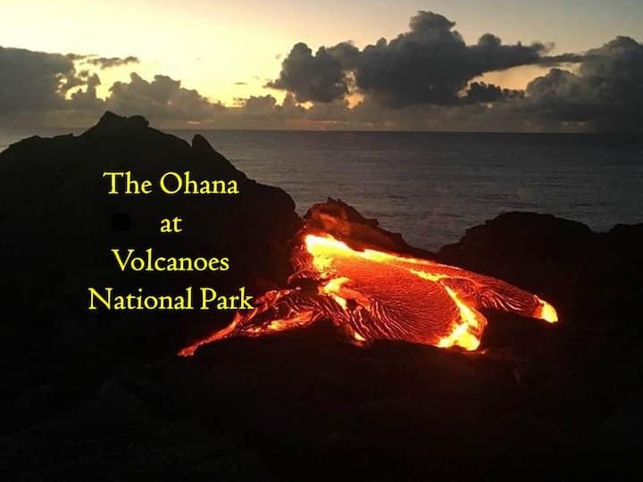 The Ohana at Volcanoes National Park!