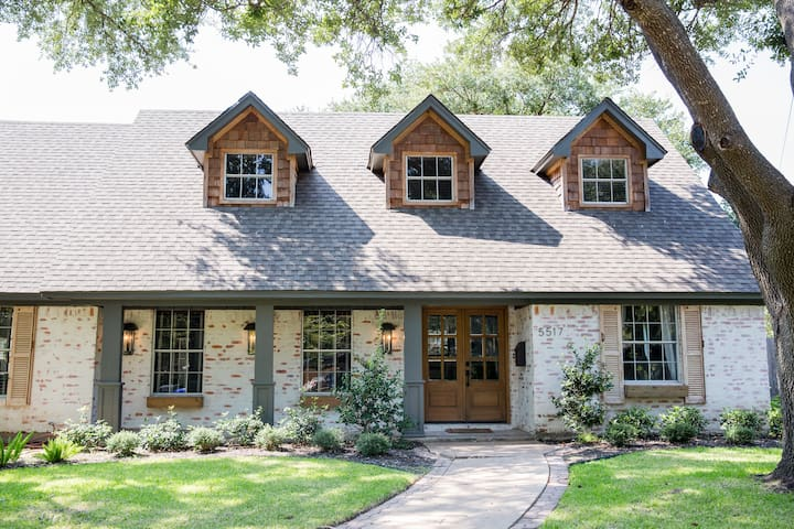 SEEN ON FIXER UPPER- The German Schmear House