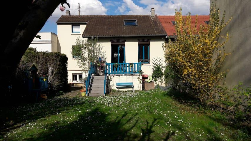 Maison au calme avec jardin - Athis-Mons - House