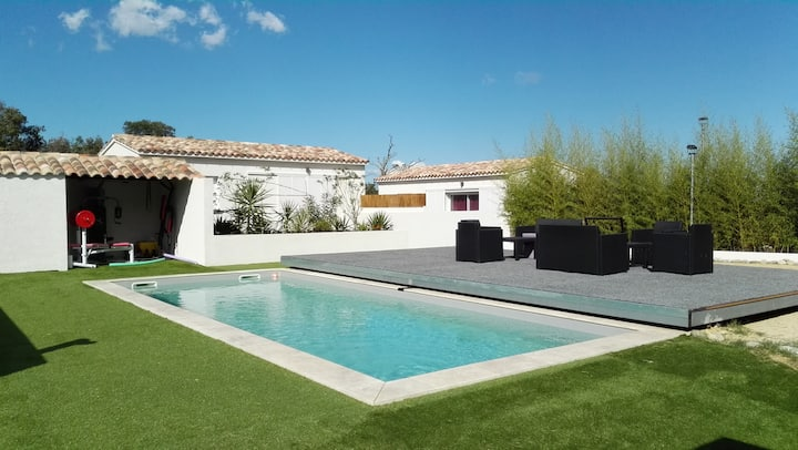 Location maison neuve avec piscine