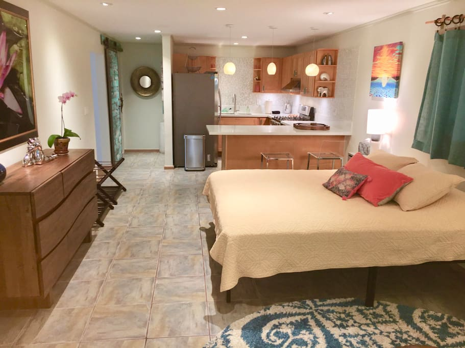 Comfortable chic accommodations