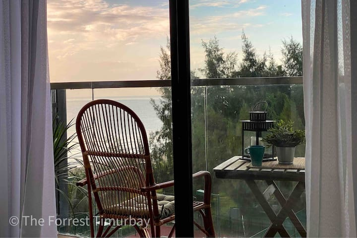The Forrest Tropical Sea View Studio with Balcony