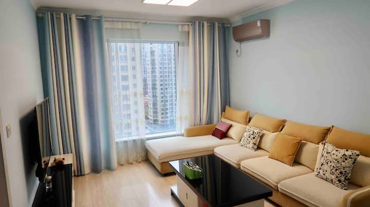 1958超温馨舒适公寓Cozy Double-bedroom Apartment