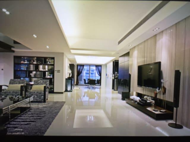 温馨幸福的生活 And 两张床任选 - 台南市 - Appartement