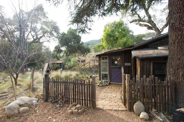 1929 Charles Greene Cabin Apartment - Carmel Valley - Huoneisto