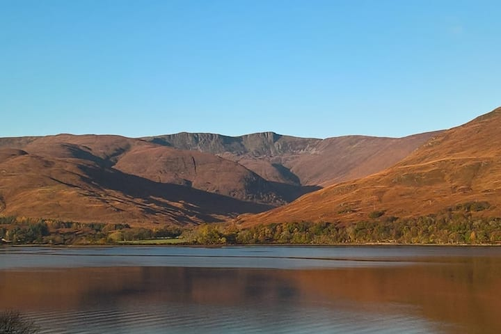 Stunning views of Glean Chreagan in Fort William