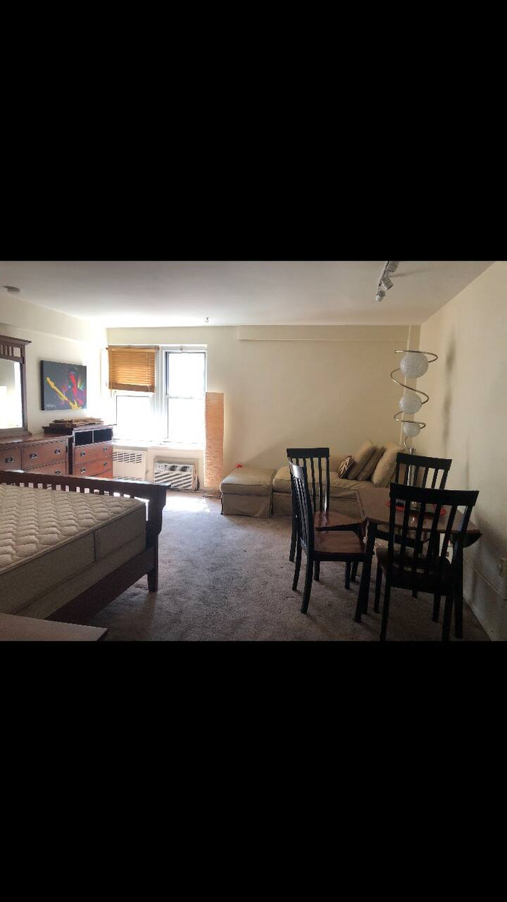 Studio apartment close to Winthrop and the LIRR