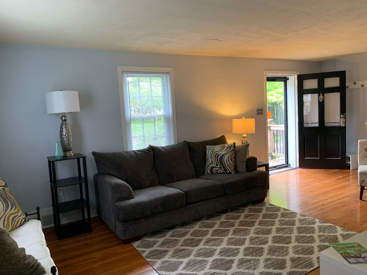Entrance to spacious living area