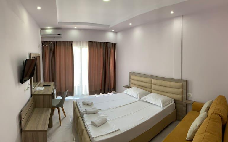 Unique suite at Villa Goro.