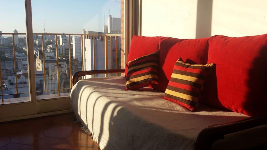 Habitación para dos + sofá cama - La Plata - Lejlighed