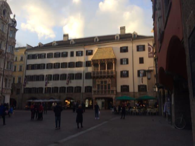 Most central room EVER! - Innsbruck