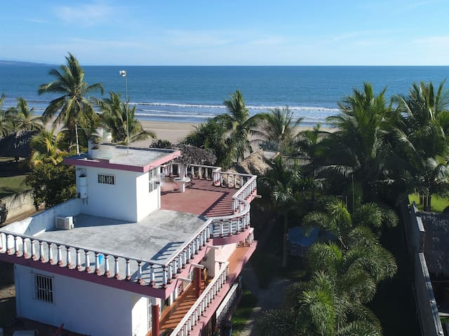 Casa a pie de Playa, Frente al Mar &Petfriendly
