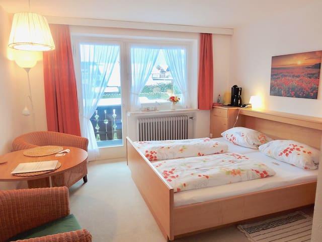 Gemütliches Zimmer in Mittenwald