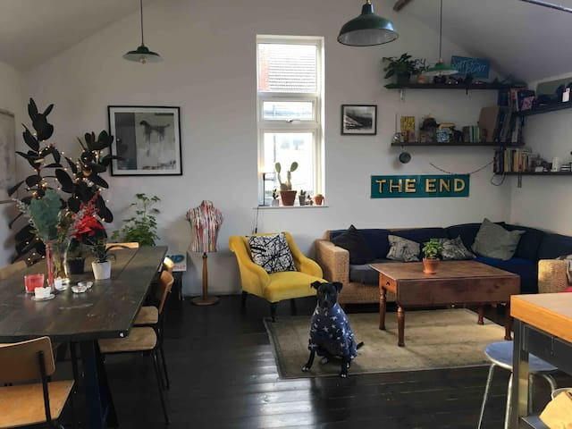 Double Room in Loft Style Victorian Flat
