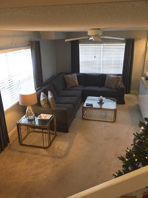 My cozy living room.