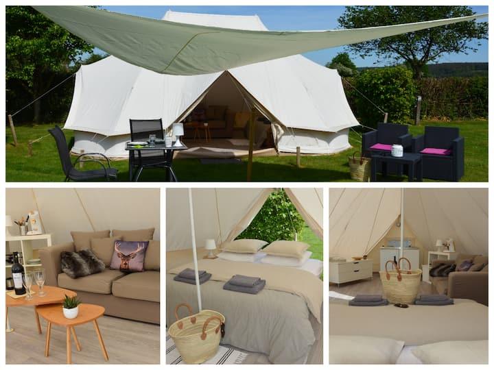 Glamping Tent Deluxe voor 2