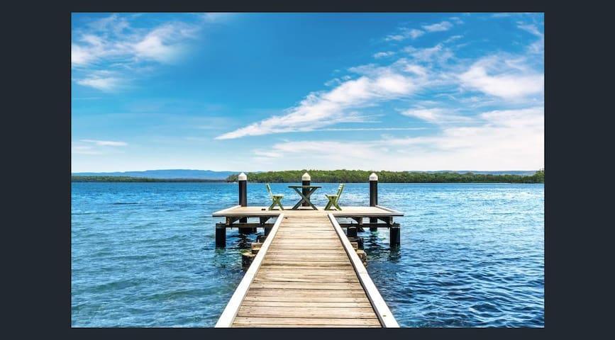 Lingalonga - absolute lakefront! - St Georges Basin - บ้าน