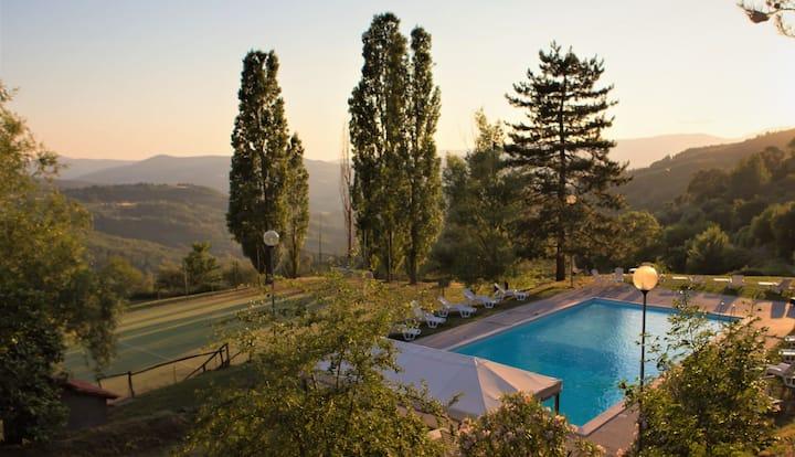 Amazing Villa x12 in Chianti 35km from Florence