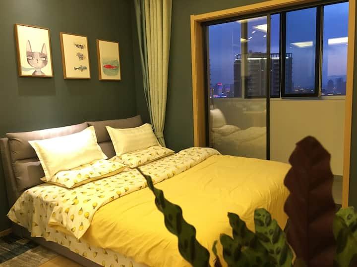 建发大阅城精装公寓北欧风小居