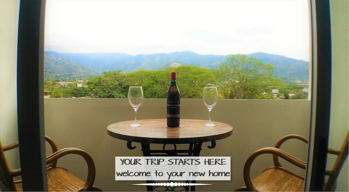 Two 2nd floor Apts. 4br/4ba w/ AC, View & Location