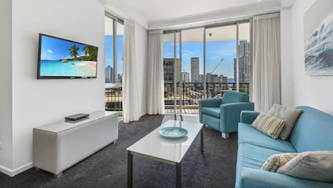 Chic apartment in the heart of Surfers Paradise